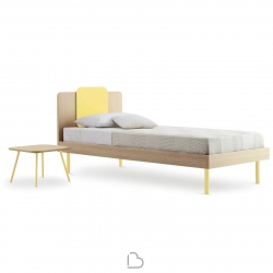 Single Bed Nidi Quadro