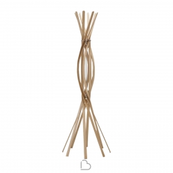Horm Twist Clothes hangers Bois Blond
