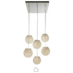 Suspension lamp In-es.artdesign Sei Lune