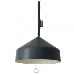 Suspension lamp Ines.artdesign Cyrcus lavagna
