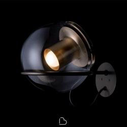 Lampada da parete Oluce The Globe