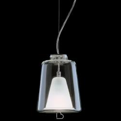 Lampada a sospensione Oluce Lanterna
