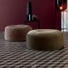 Round Twils soft pouf
