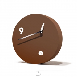 Table clock Tothora Slice