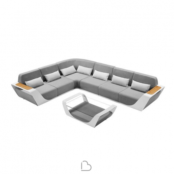 Sofà Outdoor Higold Onda - with coffee tables