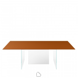 Lago Table Air - Glass
