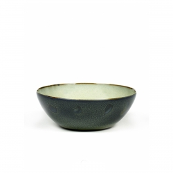 Serax Bowl XL Gray / Dark Blue