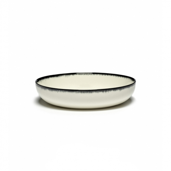 Serax Dish High Dè Off-White / Black