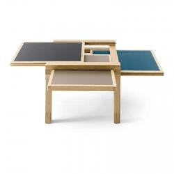 Table basse Sculptures Jeux Par3 - palette