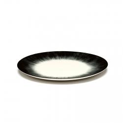 Serax Piatto Dè Off-White/Black Var 5