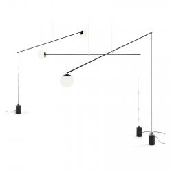 Lámpara de suspensión Mogg Bitta
