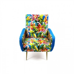 Seletti Armchair Flowers with holes