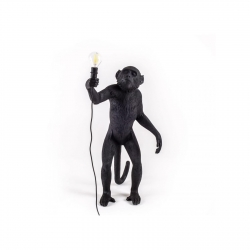 Seletti Table Lamp Monkey Lamp Black