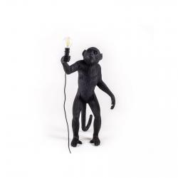 Seletti Lampe de table Monkey Lamp Black