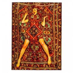 Seletti Carpet Lady on carpet