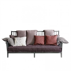 3 Seater Sofa Gervasoni Gray 03