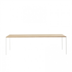 Table with wood top Desalto 25