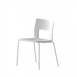 Chair with Tubular Structure Desalto Kobe