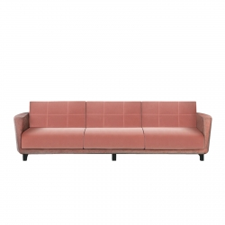 3 Seater Sofa Alma Design Magenta