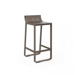 High stool with backrest GandiaBlasco Flat