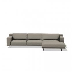 Sofa with Chaise Longue Ditre Italia Dalton Low
