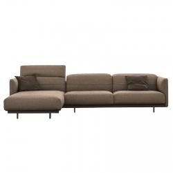 Sofa with Chaise Longue Ditre Italia Arlott High