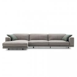 Sofa with Chaise Longue Ditre Italia Nevyll High
