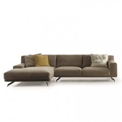 Sofa with Chaise Longue Ditre Italia Dalton