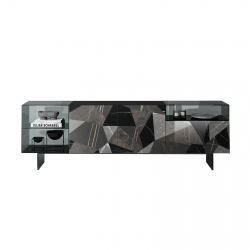 Lago Sideboard 36e8 Glass Supersalone Limited Edition