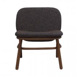 Armchair with low backrest Ondarreta Lana