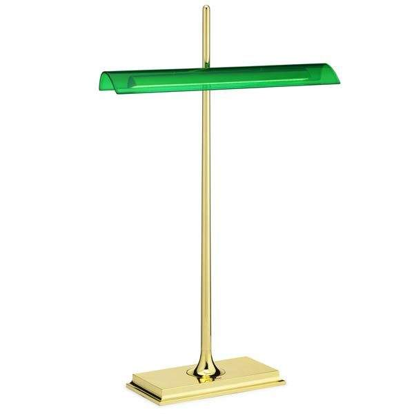 Brass/green