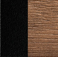 black lacquered GF73 - Canaletto walnut