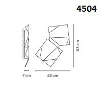 4504: 53x7x63 cm