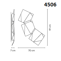 4506: 70x7x91 cm