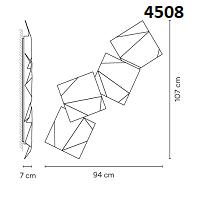 4508: 94x7x107 cm