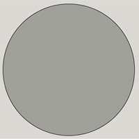 MDF Lacquered - D 100 60 05 Gray