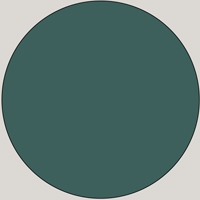 MDF Lacquered - D 200 40 10 Teal