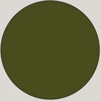 MDF Lacquered - RAL 6003 Green