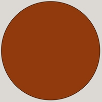 MDF Lacquered - RAL 8004 Rust