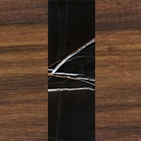Walnut Wood - Sahara Noir Marble - Walnut Wood